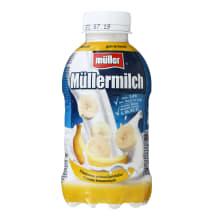 Bananų skonio pieno gėrimas MÜLLERMILCH, 400g