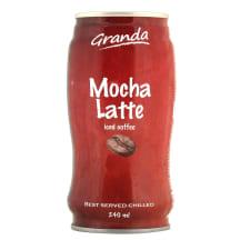 Šalt. kavos gėrimas GRANDA MOCHA LATTE, 240ml