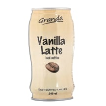 Š. kavos gėrimas GRANDA VANILLA LATTE, 240ml