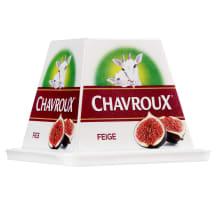 Ožkų pieno sūris CHAVROUX Figs, 150g