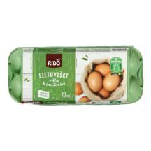 Kiaušiniai RIDO, 10 vnt., 630g