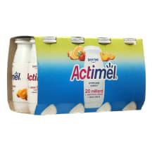 Vaisinis jogurto gėrimas ACTIMEL, 8 x 100 g