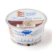 Kausētais siers Pelīšu ar kūpinātu sieru 200g