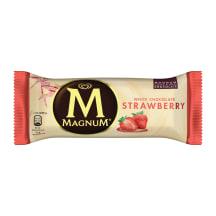 Saldējums MAGNUM zemeņu 110ml/90g