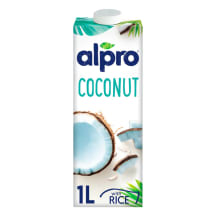 Kookosjook riisiga Alpro 1l