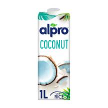 Kokosų ir ryžių gėrimas be laktoz. ALPRO, 1l