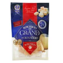 Kietasis sūris ROKIŠKIO GRAND, 100g