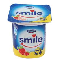 Jogurt maasika Smile 115g