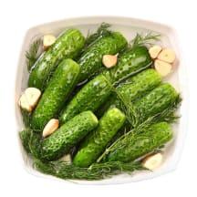 Šviežiai parauginti agurkai, 400 g