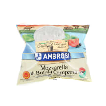 Sūris MOZZARELLA BUFFALO AMBROSI, 125g