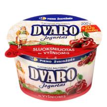 Sl. DVARO jogurtas su vyšniomis, 1,8 %, 220 g
