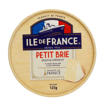 Sūris ILE DE FRANCE Petit brie, 50%, 125g
