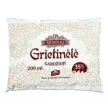 Pasteriz. SENOLIŲ grietinėlė, 35% rieb., 0,2l