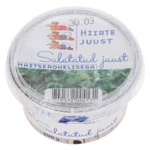 Sulatatud juust maitserohelisega Hiirte 200g