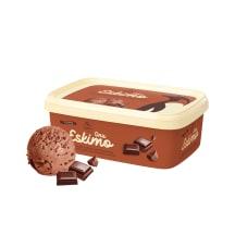 Šokolaadikoorejäätis Onu Eskimo 1l/480g