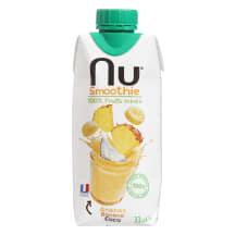 Smūtijs NU ananāsu/banānu kokosa 0,33l