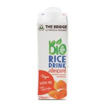 Migdolų skonio  ryžių gėrimas BIO, 250ml