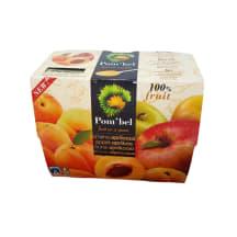 Õuna-aprikoosi puuviljamiks 4x100g(400g)
