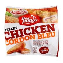 Šaldyti vištienos kepsneliai DOS POLLOS, 550g