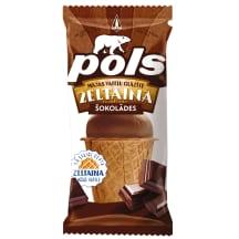 Saldējums Pols šokolādes vafeļu gl. 120ml/70g