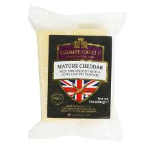 Subrand.bal.čederio sūris COOMBE CASTLE, 200g