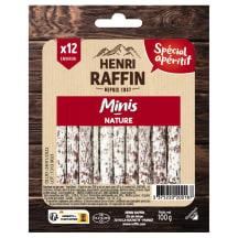 Mini salami Henri Raffin 100g