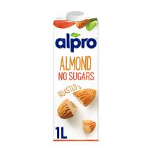 Mandeļu dzēriens Alpro bez cukura 1l