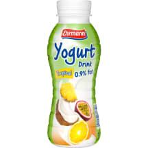 Dzeramais jogurts Ehrmann tropisko augļu 330g