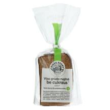 Tamsi ruginė duona be pridėtėt. cukraus,320g