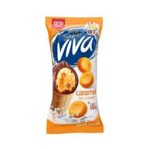 Jäätis Super Viva karamelli 180ml/97g