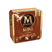 Jäätis magnum almond multipakk  6*55ml