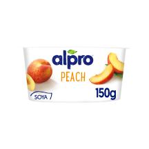 Sojas bāzes produkts Alpro ar persikiem 150g