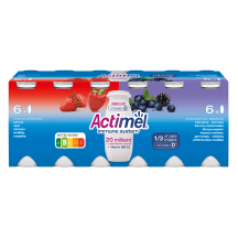 Jogurtijook maasika-mustika Actimel 12x100g