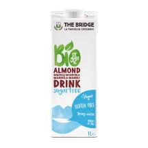 Mandeļu dzēriens The Bridge bez cukura BIO 1l