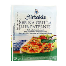 Sūris su žolelėmis GRILL SIRTAKIS, 100g