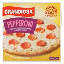 Grandiosa Pepperoni kiviahjupizza 340 g