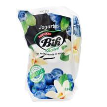 Jogurt.su mėlyn.ir vanil.BIFI ACTIVE,2%,0,9kg