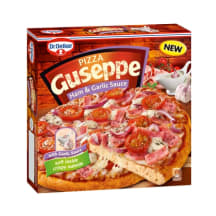 Pica Guseppe ar šķiņķi un ķiploku mērci 440g