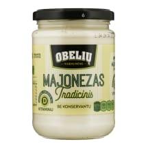 LIETUVIŠKAS OBELIŲ majonezas, 62%rieb., 350ml