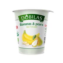 Jogurts Dobilas ar banāniem un bumb.BIO 300g
