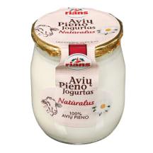 Natūralus jogurtas iš avių pieno RIANS, 115g