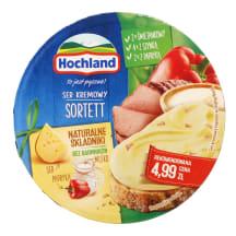 Lydytas sūris HOCHLAND SORTET, 180 g