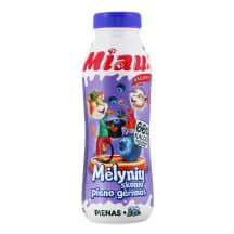 Ster. mėlyn. sk. pieno gėrimas MIAU, 450ml