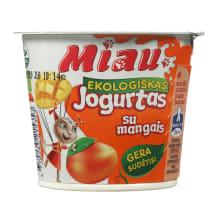 Ekol. jogurtas su mang. MIAU, 3,2%rieb., 125g