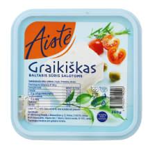 Grai. baltasis sūris salot. AISTĖ, 250g