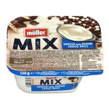 Van. sk. jogurtas su šok.rut. MÜLLER MIX,130g
