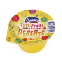Deserts Baltais tutti frutti želej. 130g