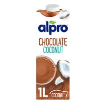 Kookosjook šokolaadimaitseline Alpro 1l