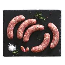 Šviež. jautienos ir kiaulienos dešrelės, 1kg