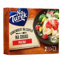 Sūris su avietėmis NATUREK, 230g